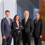 Drs. Schwartz, Pannullo, Stieg, and Ramakrishna of the Weill Cornell Brain Tumor Center