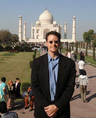 Dr. Schwartz in India, 2011
