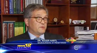 Dr. Hartl Talks About Boxer Danny Jacobs on News 12 Brooklyn